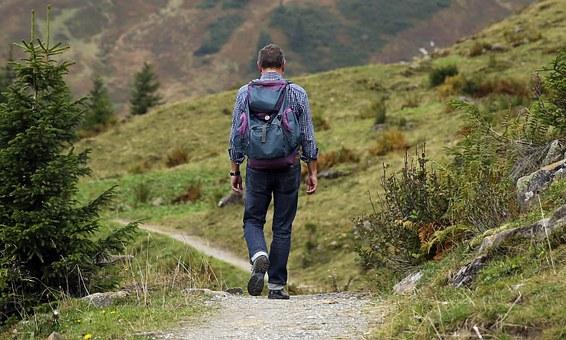MAN on Trail wanderer-455338__340